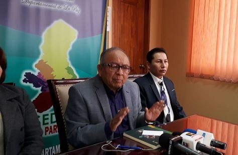 El director del Servicio Departamental de Salud (Sedes) La Paz, Freddy Valle.