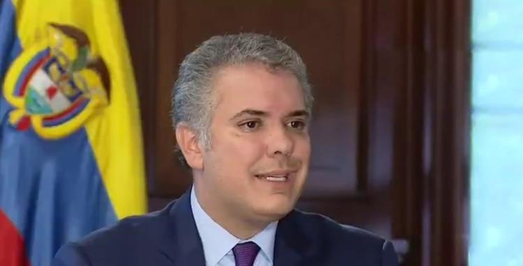 El presidente colombiano Iván Duque