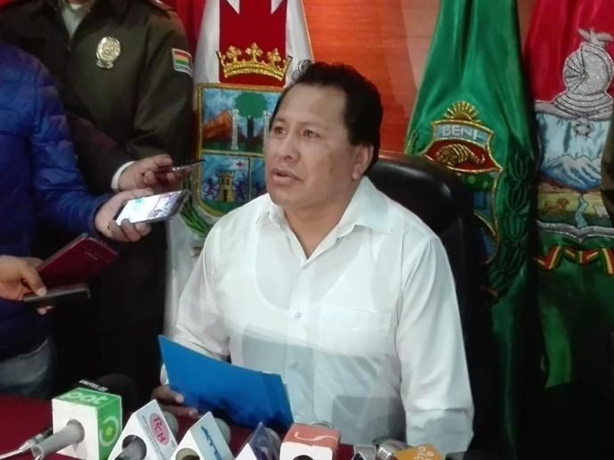 El presidente del TCP, Petronilo Flores. FOTO: TCP