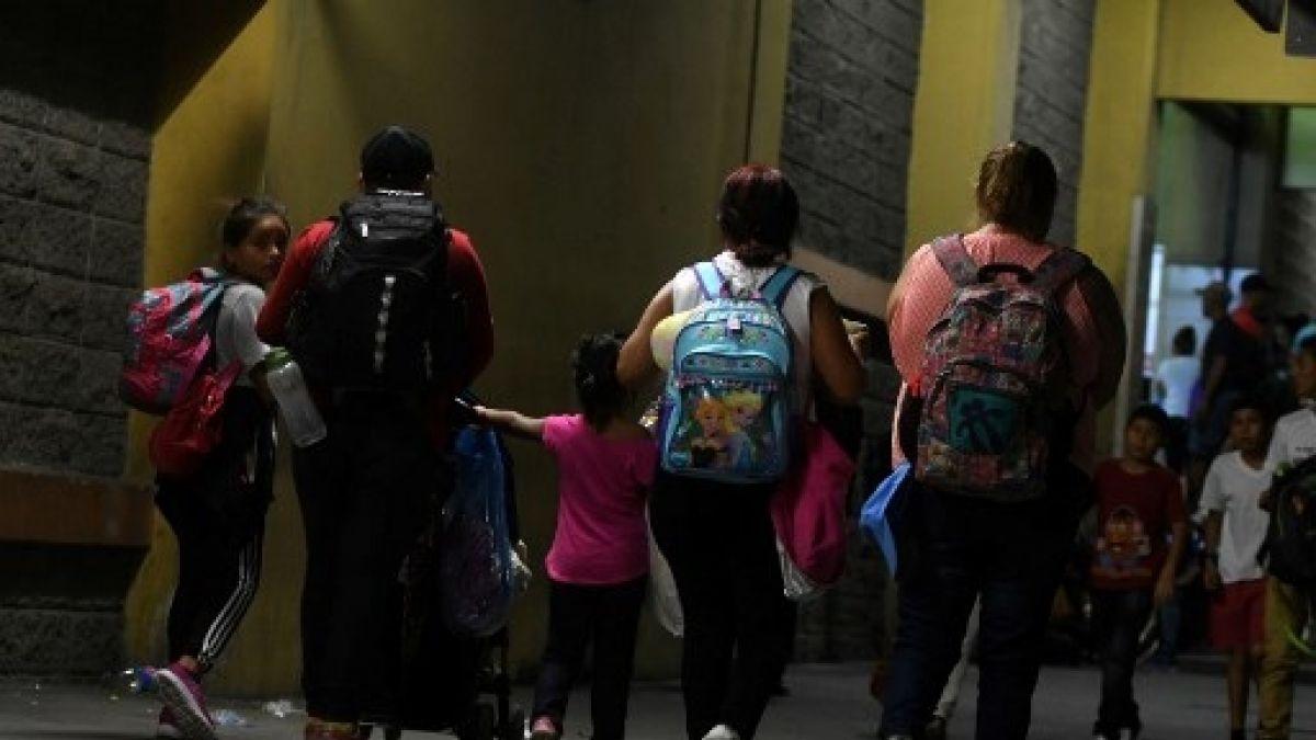 Cerca de 1.000 hondureños forman nueva caravana migratoria rumbo a Estados Unidos