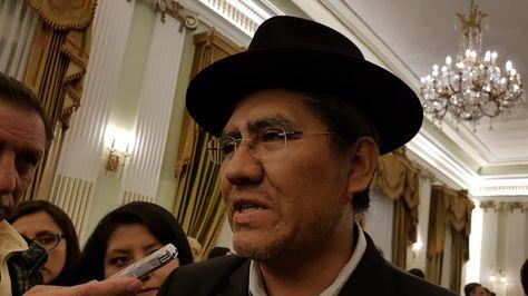 El canciller Diego Pary se pronuncia sobre resolución de la Cámara de Diputados de Chile