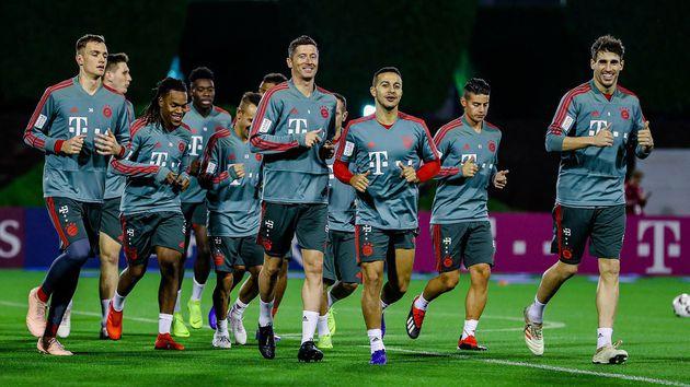 Lewandowski y Coman protagonizaron pelea en el entrenamiento del Bayern Munich