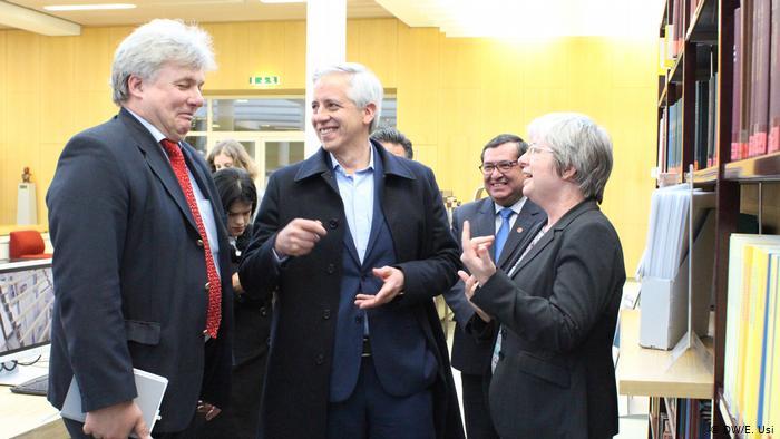 Deutschland Besuch Alvaro Garcia Linera im IAI in Berlin