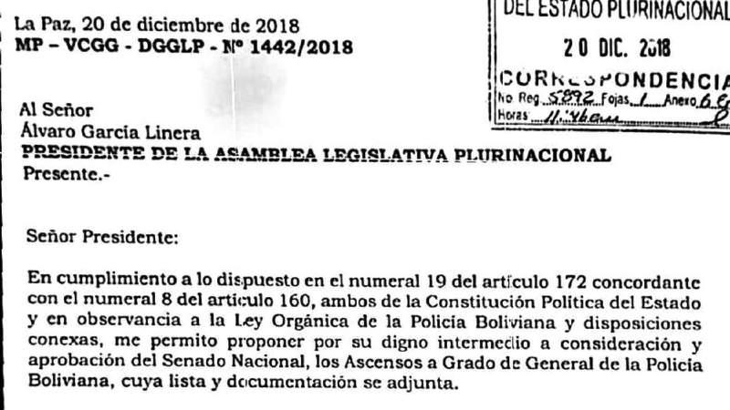 Hay polémica en la Policía por la salida de Delgado