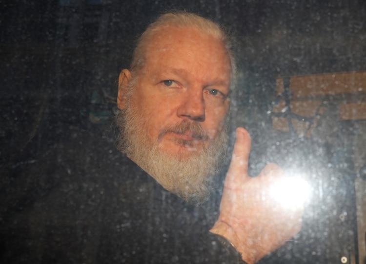 Julian Assange. REUTERS/Peter Nicholls