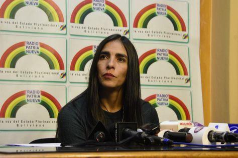 SUS: La ministra de Salud, Gabriela Montaño.