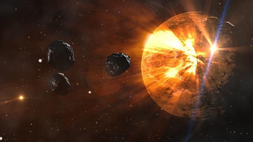 Descubren un trozo de un cometa atrapado dentro de un meteorito primitivo