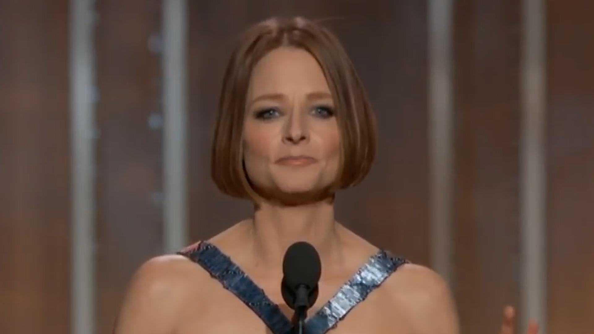 Jodie Foster globos de oro (4)