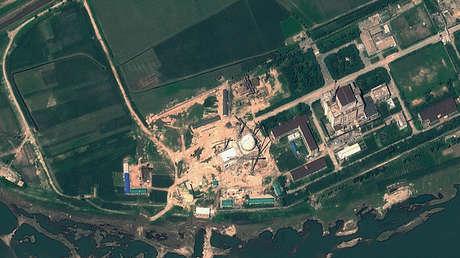 Imagen satelital del Centro de Investigación Científica Nuclear Yongbyon en Corea del Norte.