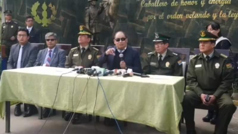 En medio de denuncias, Romero afirma que la Policía realiza una autoevaluación