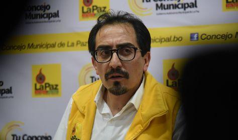 El concejal de La Paz Fabián Siñani. Foto: Archivo - La Razón