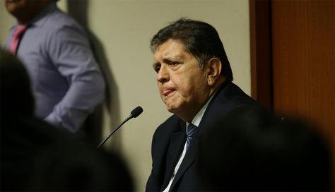 El expresidente peruano Alan García