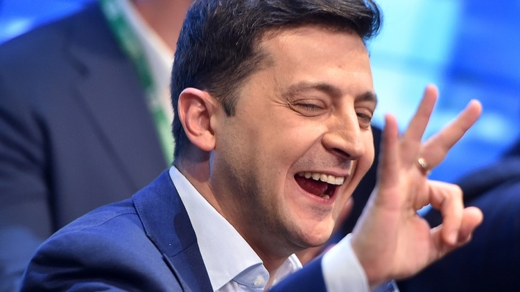 Volodymyr Zelensky, nuevo presidente de Ucrania (Sergei GAPON / AFP)