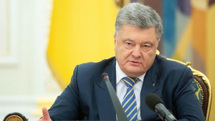 Petro Poroshenkoreconoció su derrota (AFP)