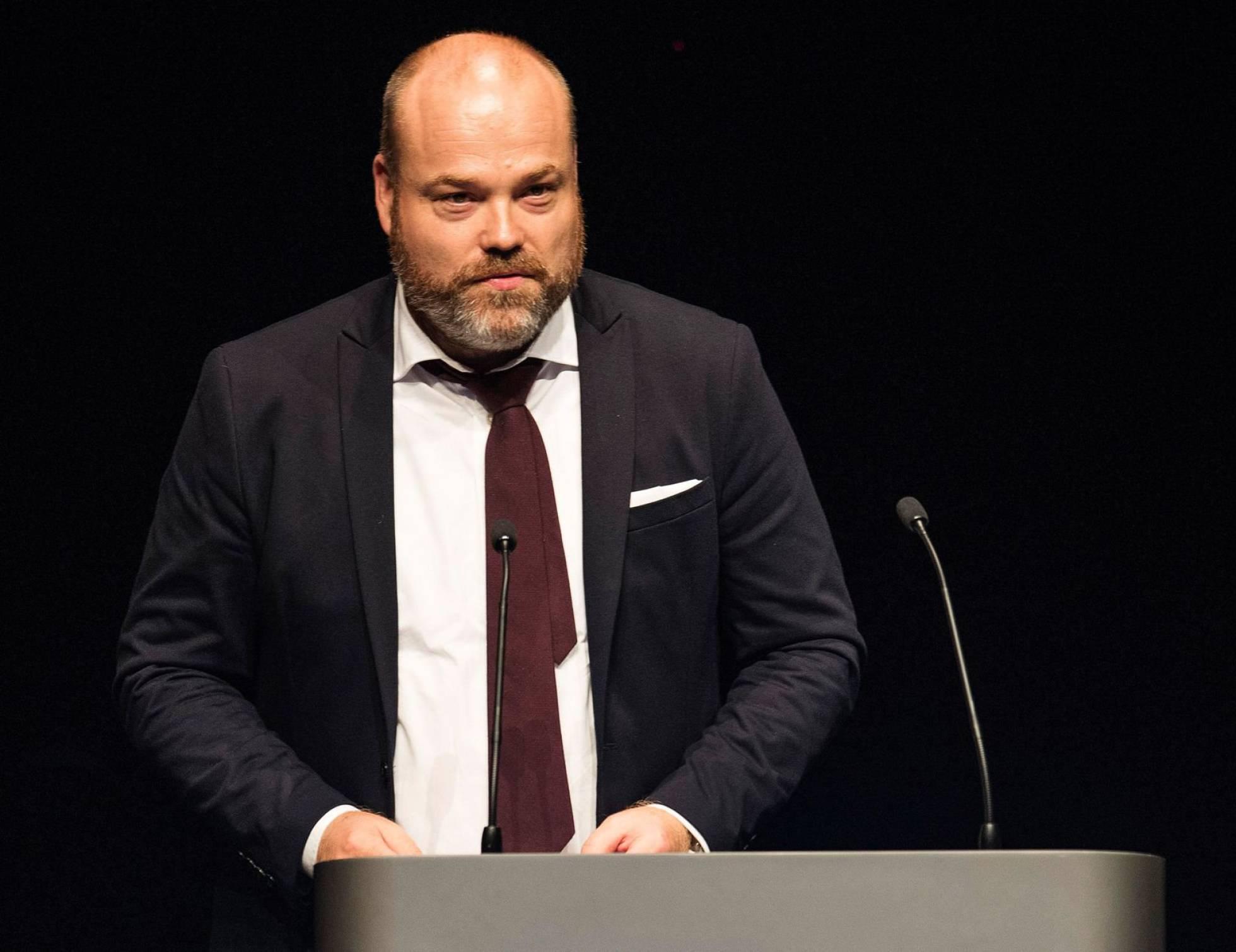 Anders Holch Povlsen, durante un evento en Aarhus (Dinamarca), el 21 de abril de 2017.