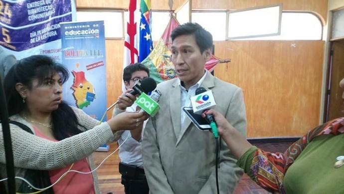 El director Distrital de Educación de Sucre, Marlon Ceballos. FOTO: CORREO DEL SUR