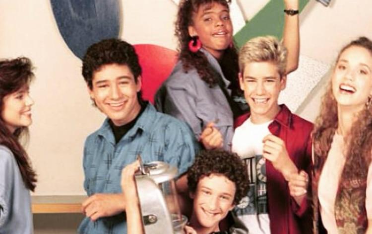 """""""Salvados por la campana"""" se transmitió en EEUU entre 1989 y 1993"""