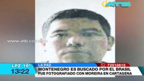Pedro Montenegro Paz, el buscado por narcotráfico desde 2015 que participó en actos oficiales de la FELCC. Foto: Captura de TV