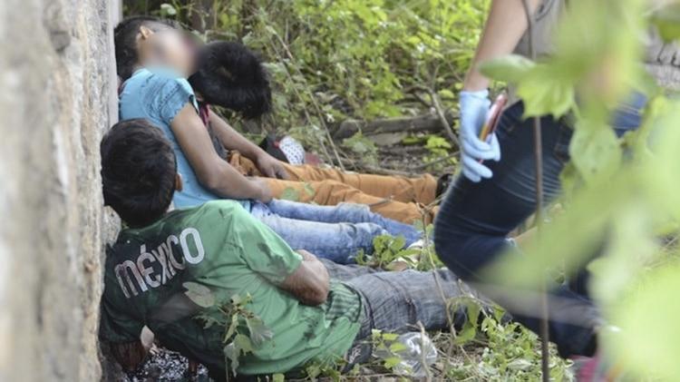 La imagen que se viralizó en México el 13 de septiembre, captada por el fotoperiodista Bernardino Hernández (Foto: Agencia Cuartoscuro)