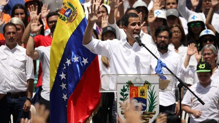 El representante de Juan Guaidó presentó ante la OEA el Plan País(REUTERS/Andres Martinez Casares)