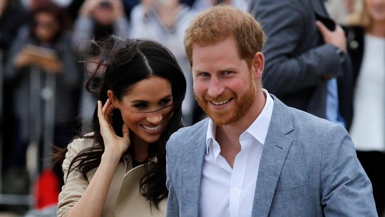 El príncipe Harry y Meghan Markle en Melbourne en 2018 (Reuters)