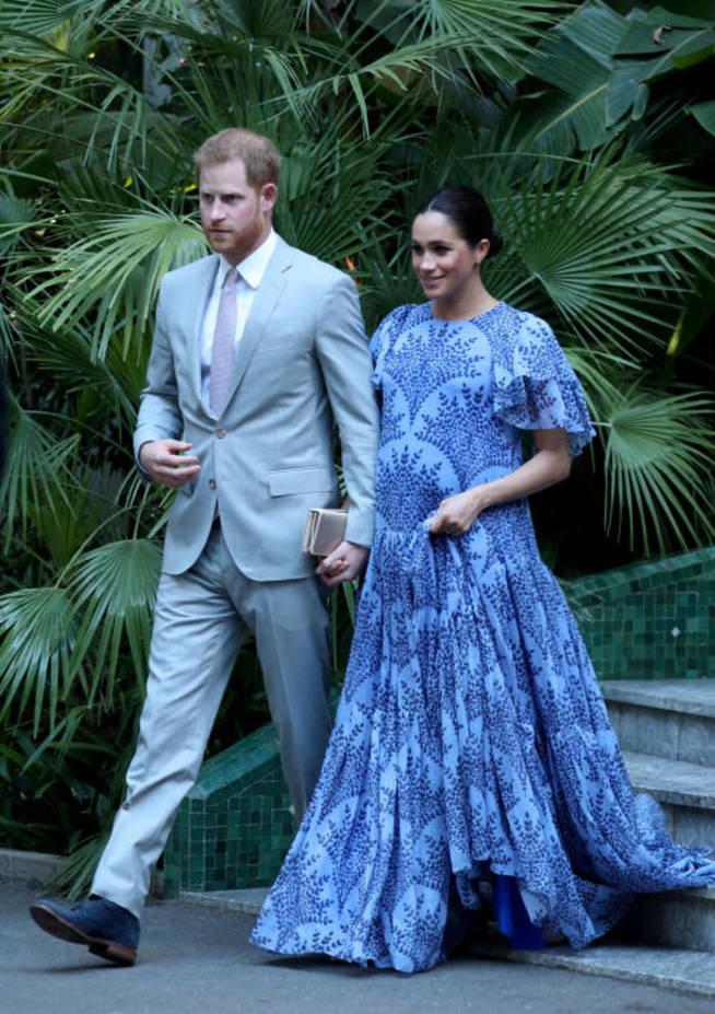 Meghan Markle y el príncipe Harry en su última visita a Marruecos. (Reuters)