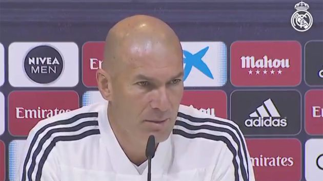 La controversial frase de Zidane contra Barcelona