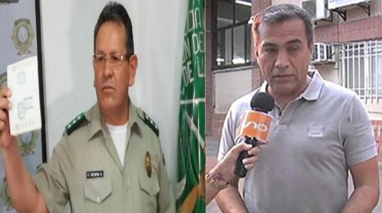 Medina y Moreira policías