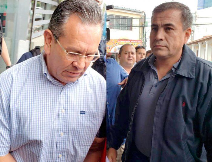 GONZALO MEDINA Y FERNANDO MOREIRA, FUNCIONARIOS POLICIALES DADOS DE BAJA.