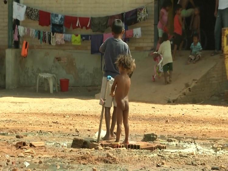 El pueblo Jiw es desplazado de la violencia y vive en precarias condiciones, pues no tienen agua potable. (Foto de referencia)
