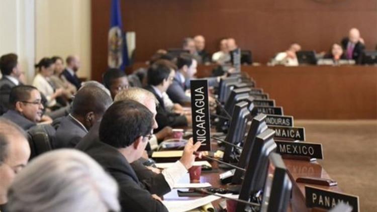 La OEA comenzó el proceso para aplicarle la Carta Democrática a Nicaragua
