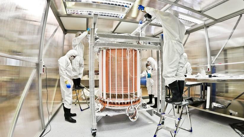 Detector de materia oscura observa el