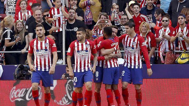 Atlético de Madrid ganó un partido polémico ante Valladolid