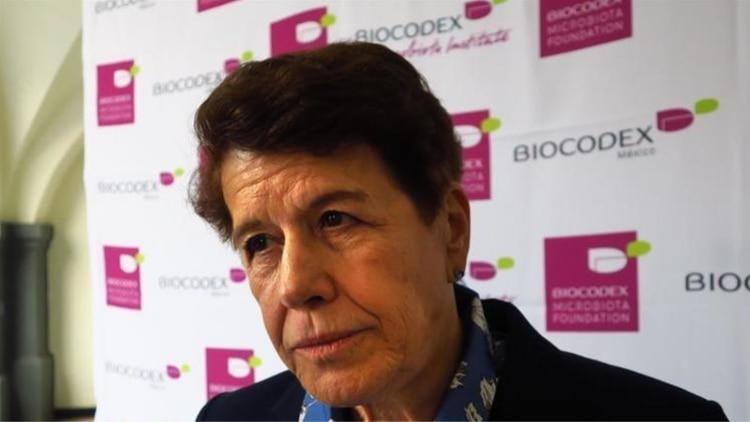 Fotografía de la gastroenteróloga Solange Heller, quien preside el Comité Científico de la Biocodex Microbiota Foundation (BMF) EFE