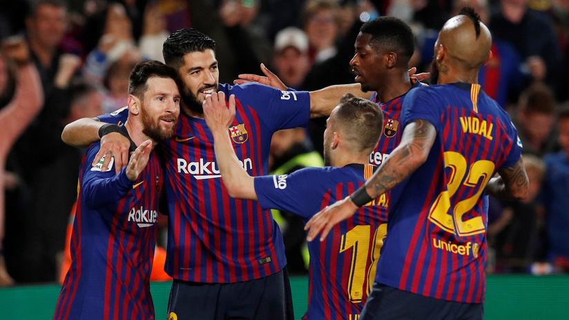 El Barcelona se proclama campeón de la Liga de España de la mano de Messi