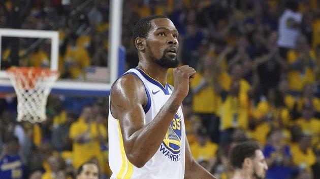 Kevin Durant vuelve a ser el líder ganador de los Golden State Warriors