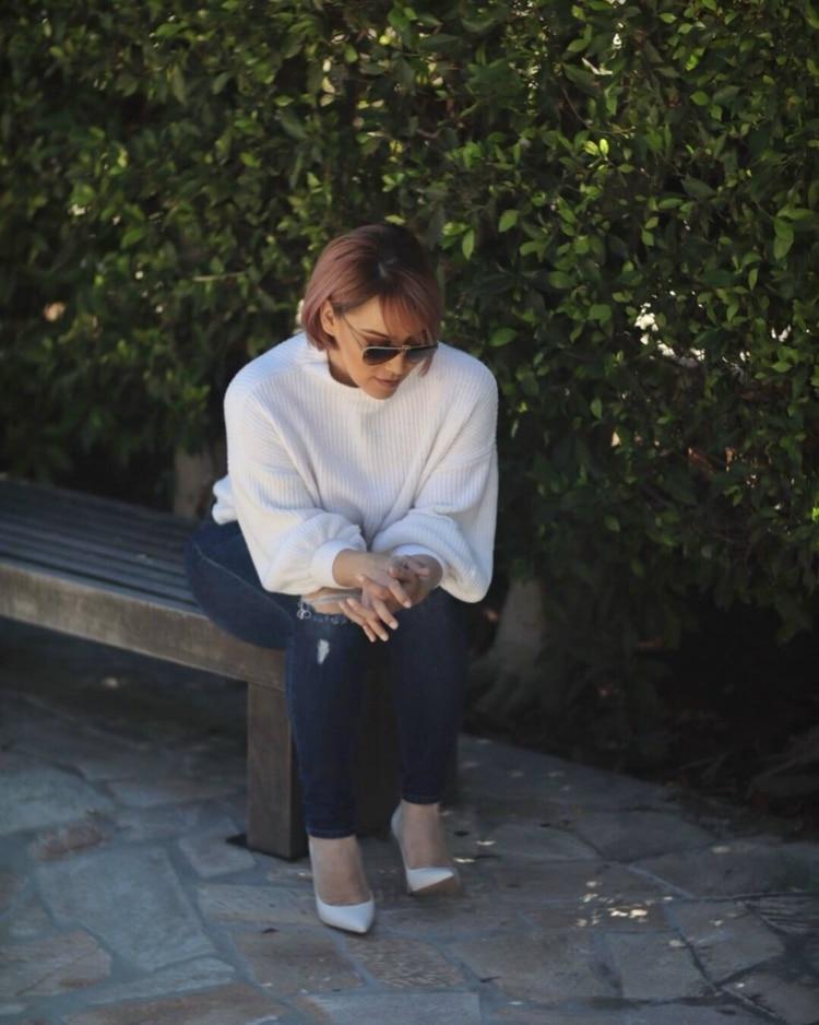 Rosie publicó un libro para hablar de los abusos que sufrió (Instagram: rosierivera)