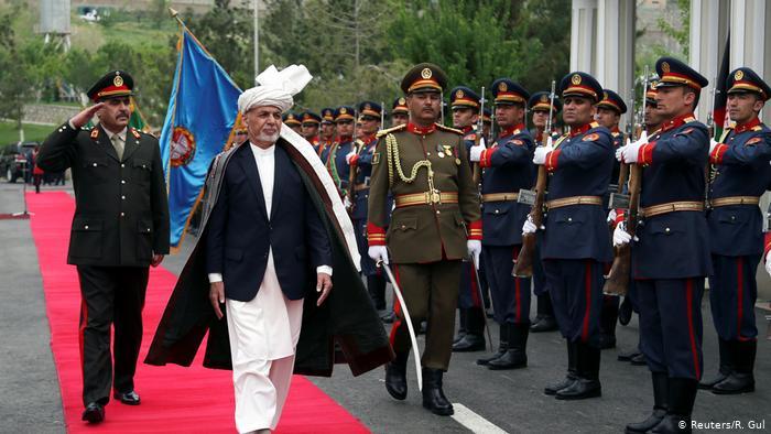 Ashraf Ghani, presidente de Afganistán, inaugura la Gran Asamblea, Loya Jirga.