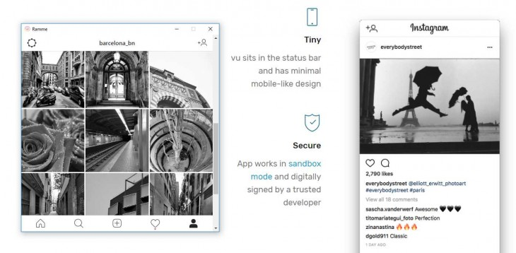 apps para usar instagram desde PC