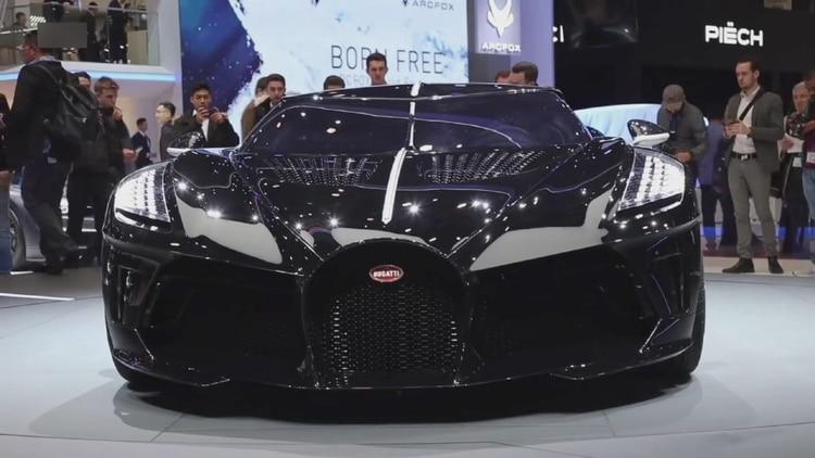 El Bugatti fue presentado en el Salón del Automóvil de Ginebra