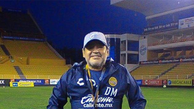El caño de Diego Maradona que es furor en las redes sociales