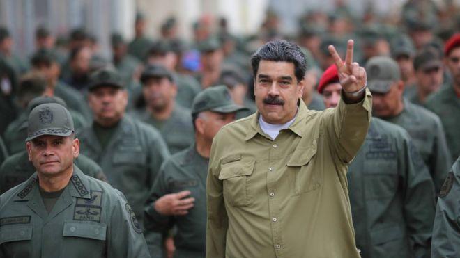 Resultado de imagen para Maduro asegura que tiene bajo su mando a todas las fuerzas armadas