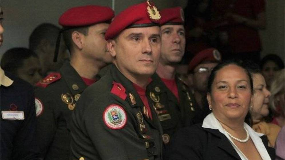 Foto: José Adelino Ornella Ferreira, jefe de Estado Mayor