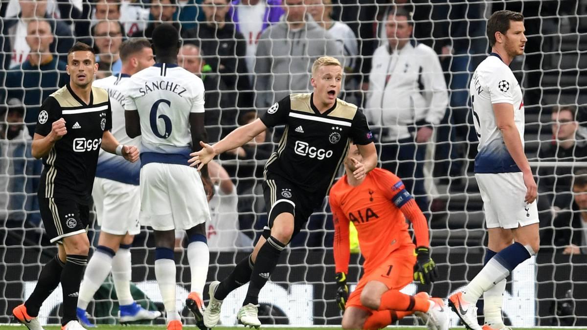 En vivo online Tottenham â Ajax, partido de las semifinales de la Champions League