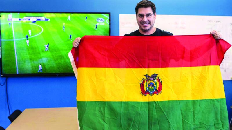 """""""Bolívar será el club con la mejor infraestructura de Bolivia, lo haré"""""""