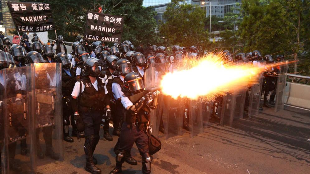 Foto: Protestas en Hong Kong este miércoles. (Reuters)