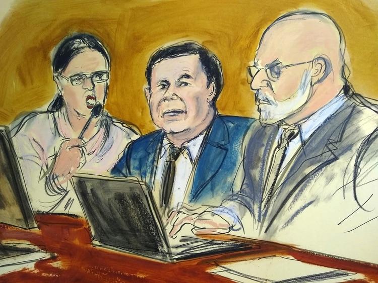 Guzmán Loera fue juzgado en Nueva York, y actualmente espera sentencia (Foto: Elizabeth Williams via AP)