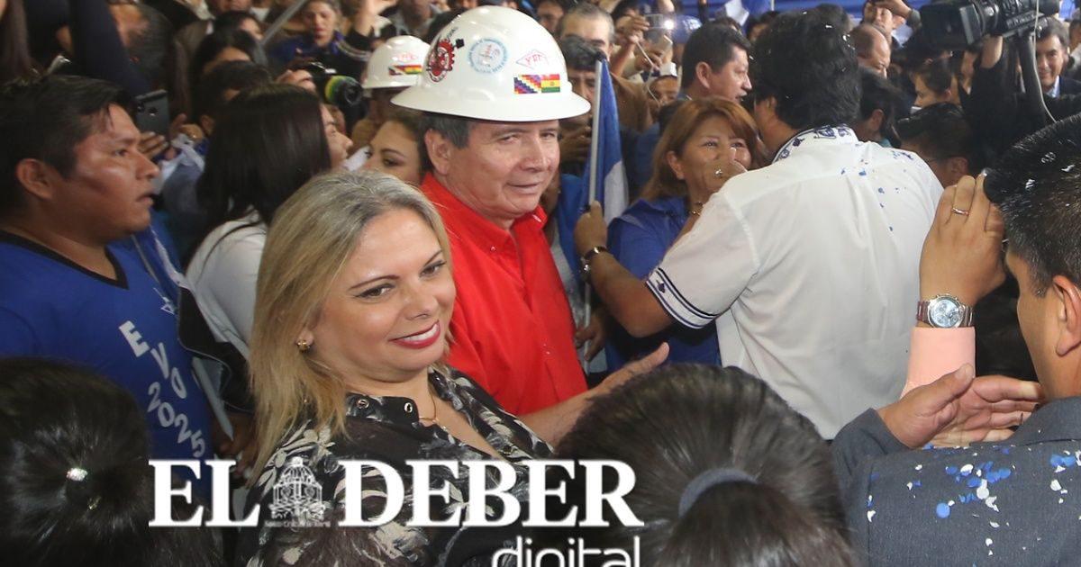 Maria Renée Liévana sorprende como primera senadora del MAS por Santa Cruz