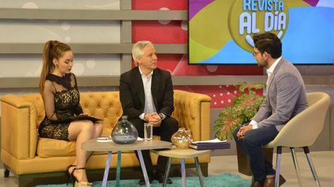 El vicepresidente Álvaro García Linera durante la entrevista en la red Bolivisión. Foto: @VPEP_Bol