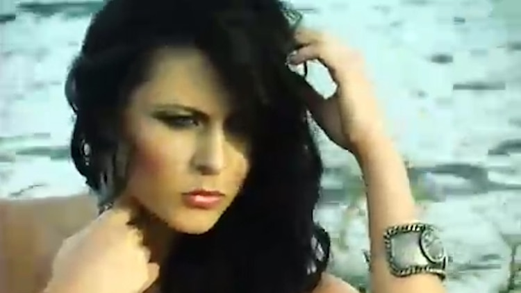 La ex reina de belleza llegó a México con un contrato como modelo y despuès empezó a estudiar actuaciòn (Foto: captura de pantalla)